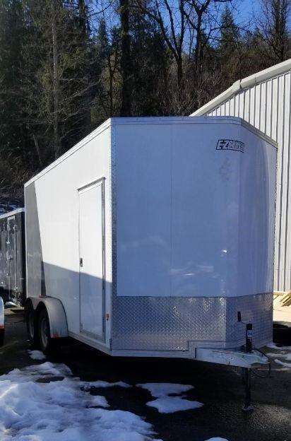 2018 EZ Hauler EZEC 7x14 Ramp Door Enclosed Cargo Trailer