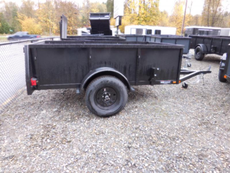 2018 Iron Eagle Voyager 5x8 Swing Gate Utility Trailer