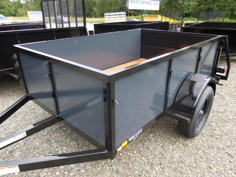 2016 Iron Eagle Voyager 5x8 Utility Trailer