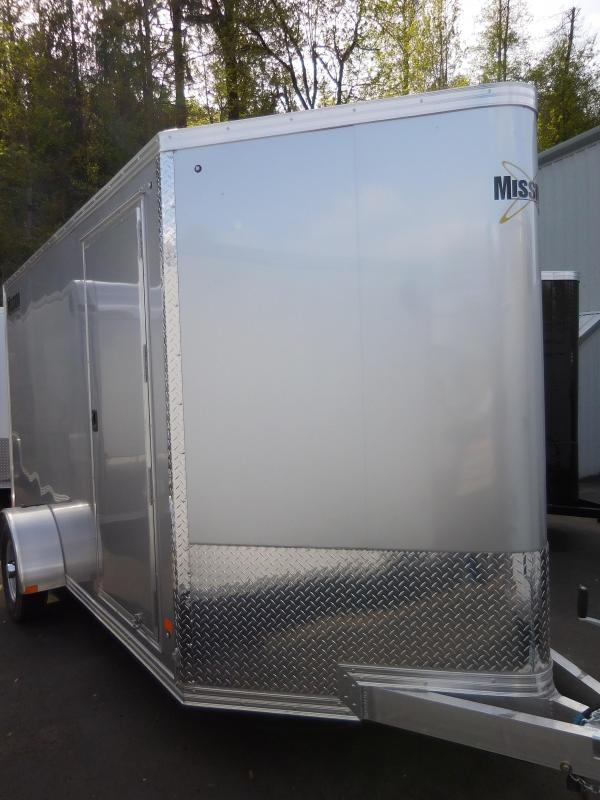 2019 Mission 6x12 All Aluminum Enclosed Cargo Trailer