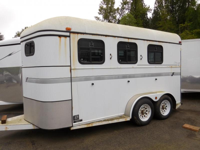 Used 1998 Thuro-Bilt 2 Horse Trailer