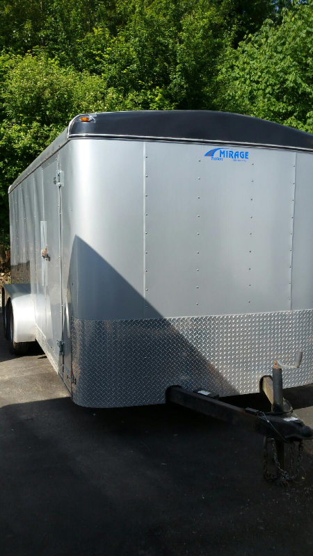 2005 Mirage 7x16 Cargo / Enclosed Trailer