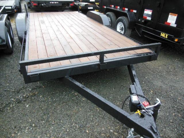 2015 Iron Eagle 7x16 7000# Series Utility Trailer