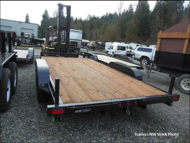 2018 Iron Eagle 7000 Series 7x14 Flatbed Trailer with 5