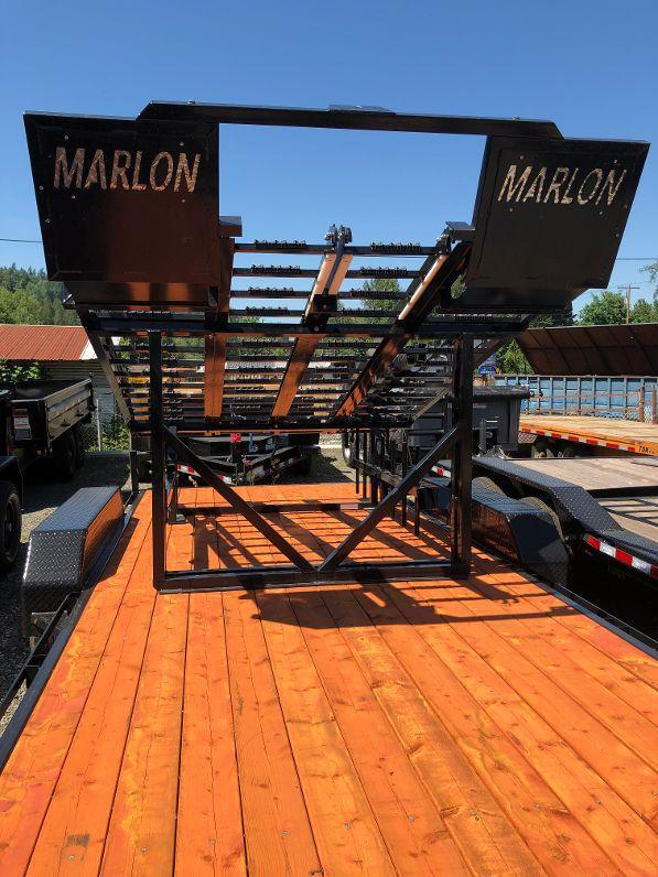 2019 Marlon Trailers Xplore Side by Side Deck Truck Bed