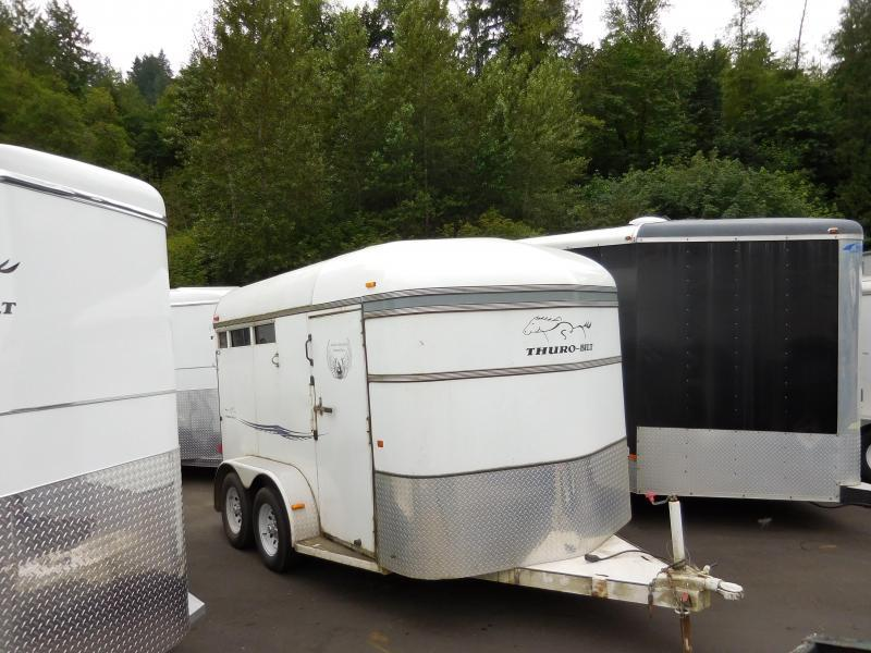 2004 Thuro-Bilt 2 Horse Trailer