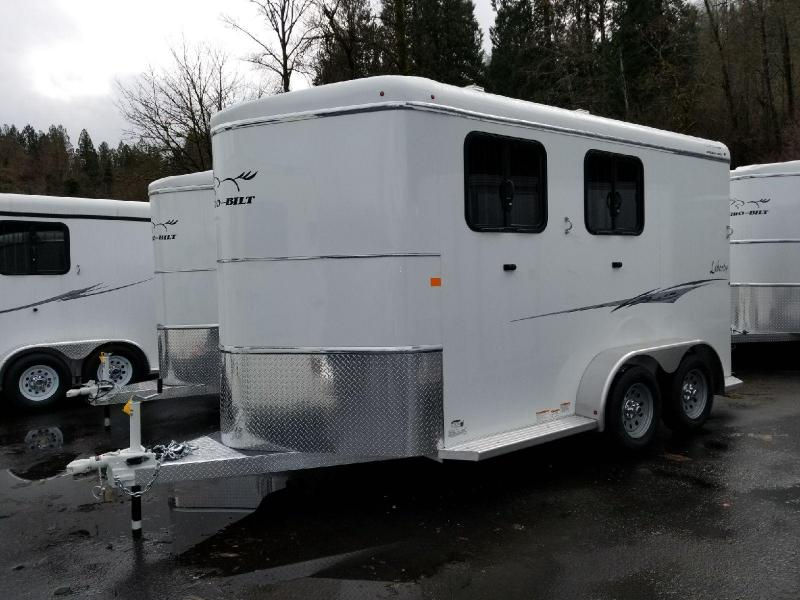 2018 Thuro-Bilt 2 Horse Liberty w/ Double Rear Doors Horse Trailer