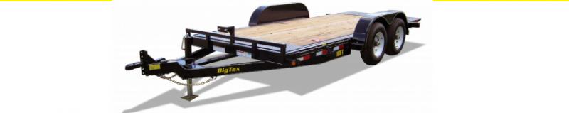 2019 Big Tex 80X18 Full Tilt Bed Equipment Trailer