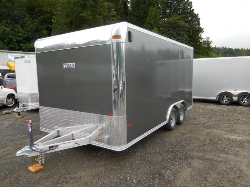 2017 Mission 8x16 Cargo / Enclosed Trailer