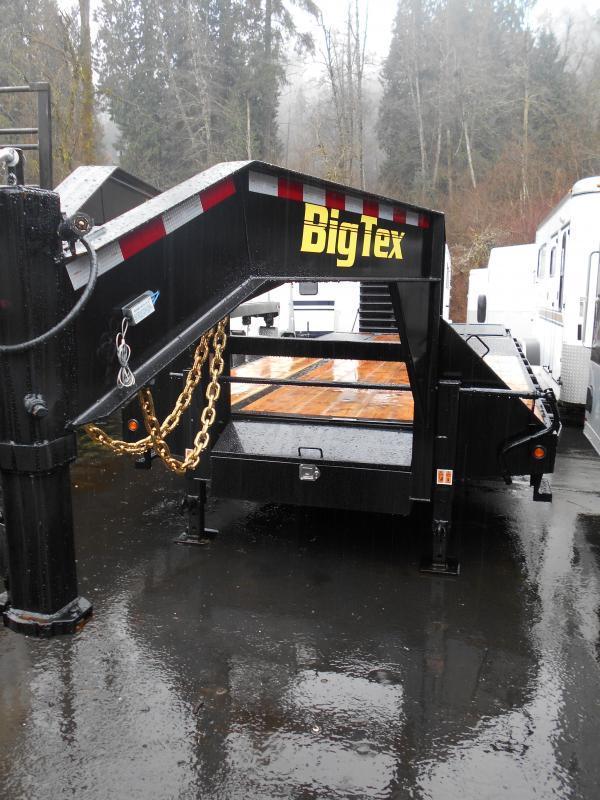 2015 Big Tex Trailers 22GN Equipment Trailers