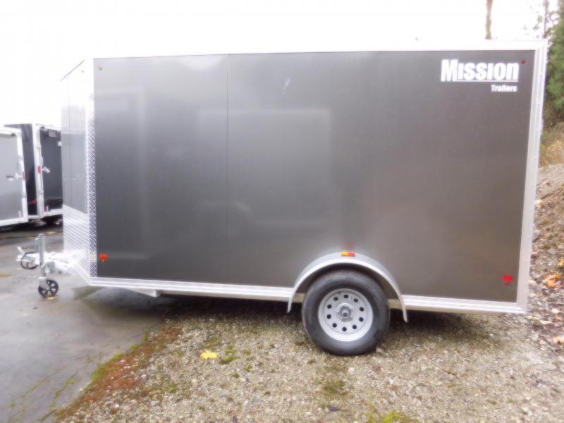 2017 Mission MEC 6x12 Cargo Trailer