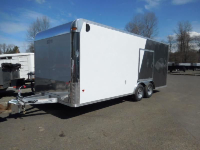 2018 EZ Hauler 8x20 Car Hauler 7K Enclosed Cargo Trailer