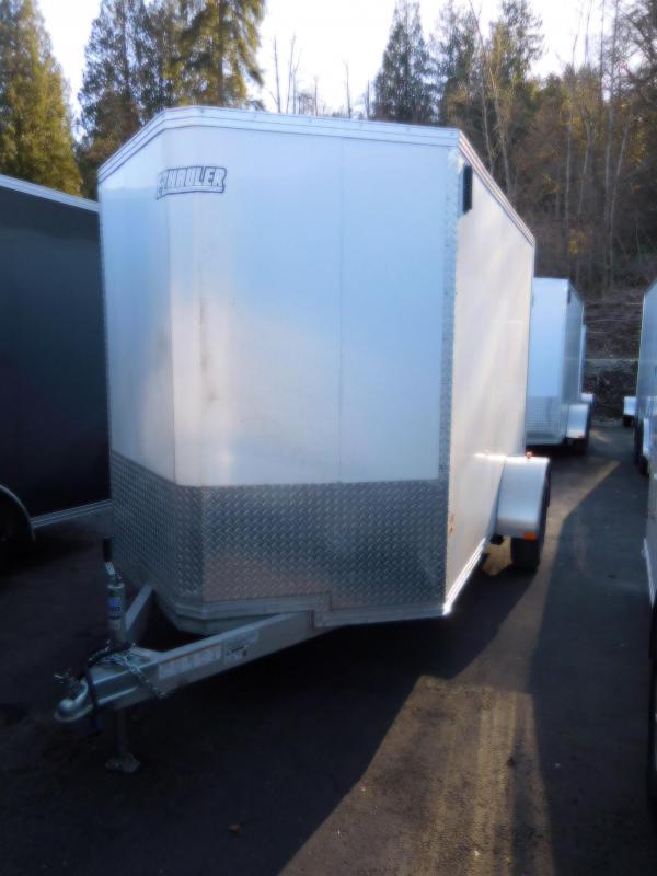 2018 EZ Hauler 6x10 All Aluminum Enclosed Cargo Trailer