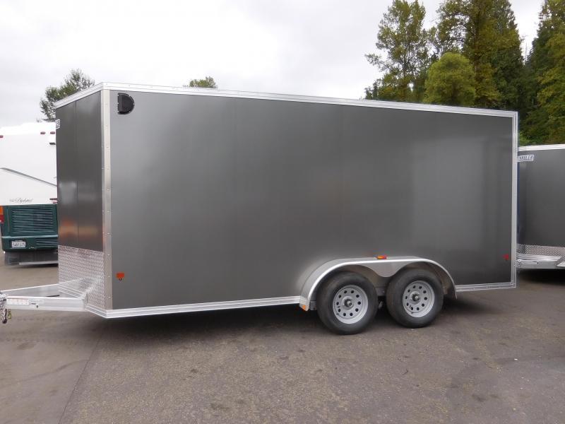 2017 EZ Hauler 7x16 Custom Enclosed Cargo Trailer