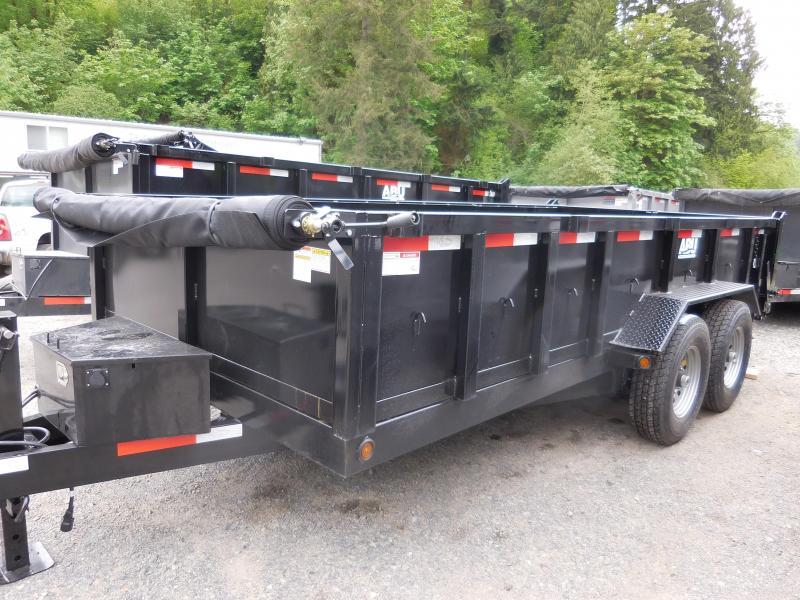 2019 ABU 7x16 16K Dump Trailer