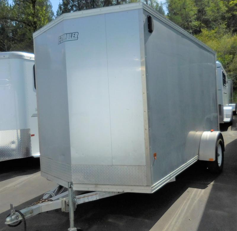 2015 EZ Hauler 6X12 All-Aluminum Enclosed Cargo Trailer