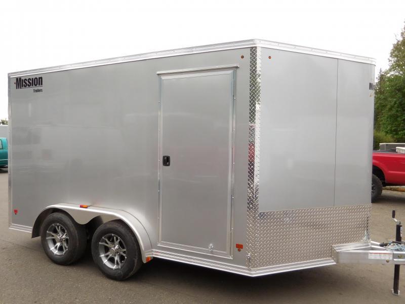 2017 Mission 7.5x12 Enclosed Cargo Trailer