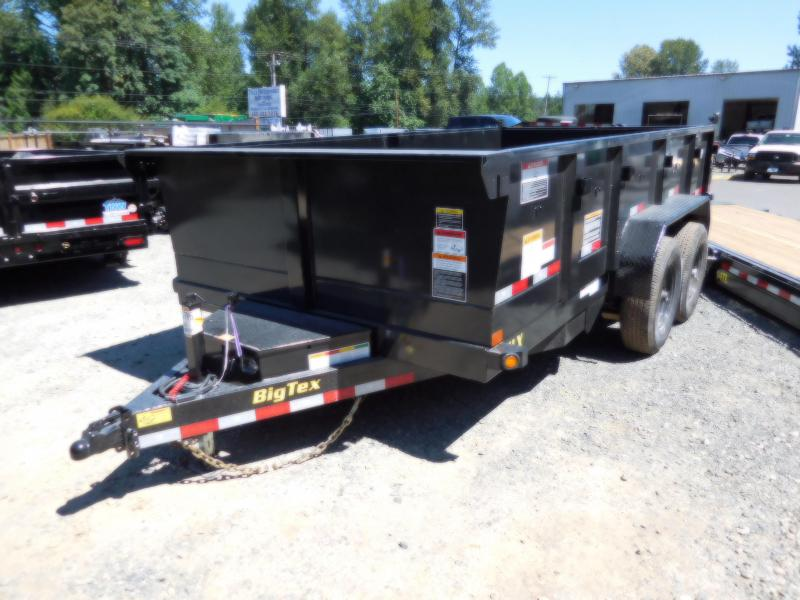 2019 Big Tex Trailers 7x14 14LX Dump Trailer