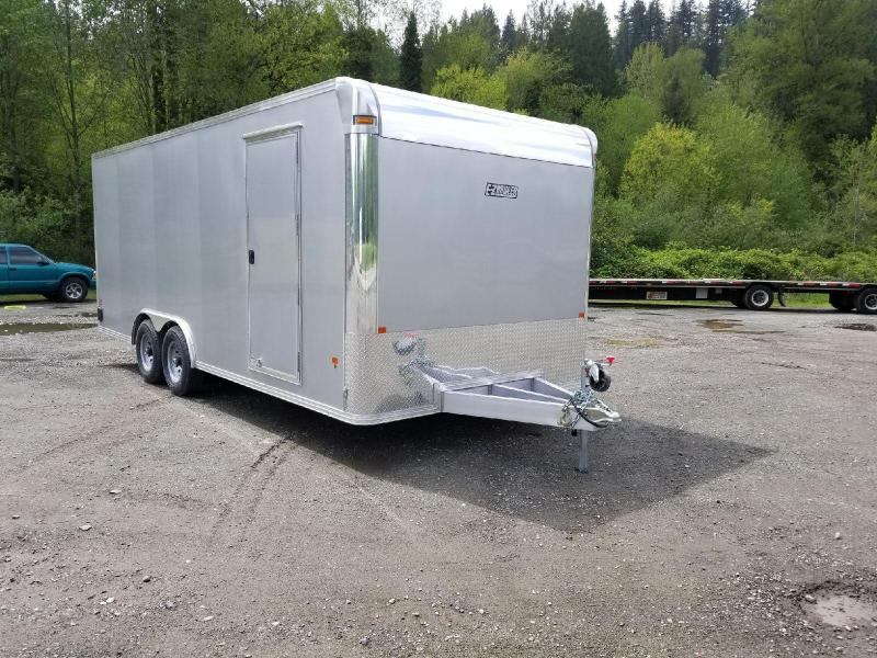2018 EZ Hauler 8x20 All-Aluminum 10K Enclosed Car Hauler Cargo Trailer