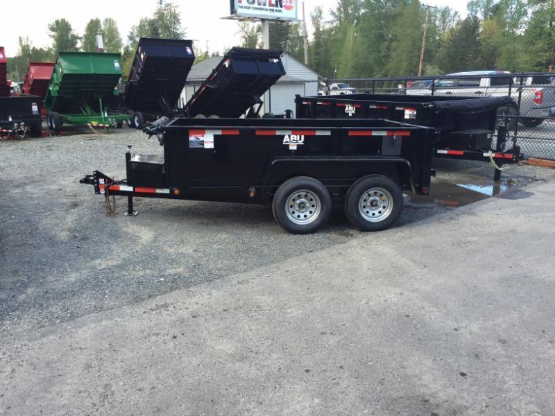 2018 ABU 5x10 Tandem Axle Dump Trailer 10K w/ Double Doors