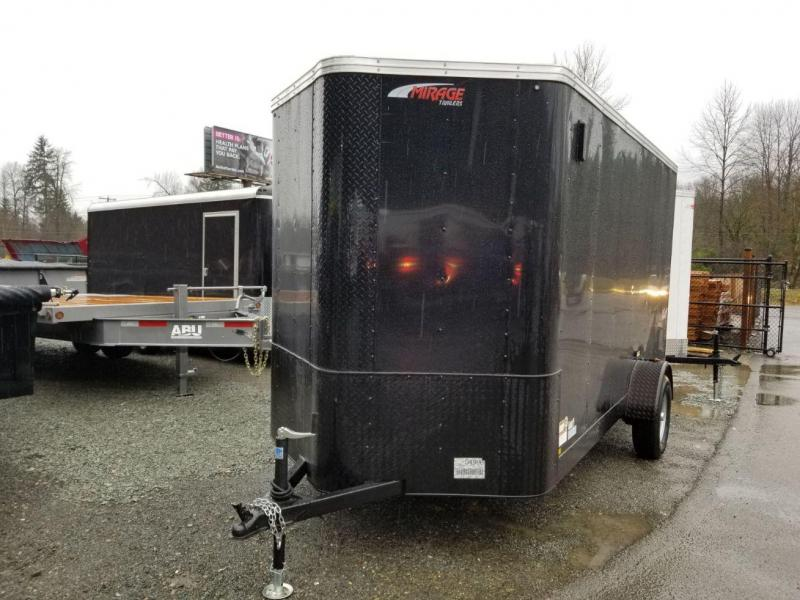 2019 Mirage Trailers 6x12 xpres Enclosed Cargo Trailer