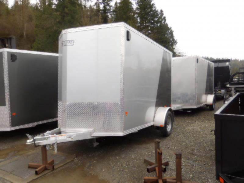 2018 EZ Hauler 6x10 All-Aluminum Enclosed Cargo Trailer