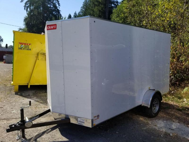 2018 Mirage Trailers 6x12 Cargo Craft Enclosed Cargo Trailer
