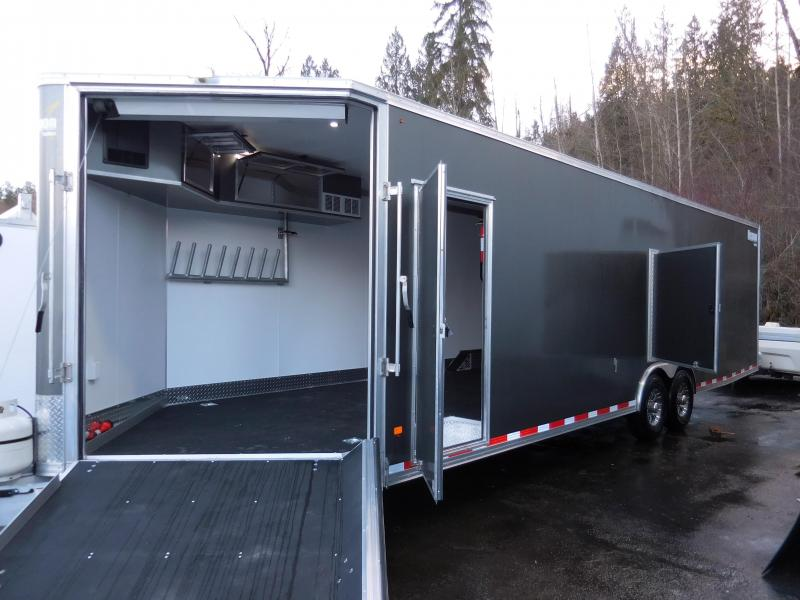 2016 Mission 30' All Sport 14k#GVW Car / Racing / Snowmobile Trailer