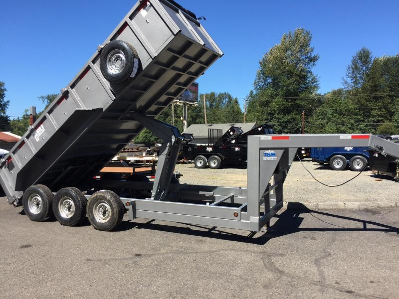 2017 ABU 18 Commercial Heavy Duty Dump Trailer