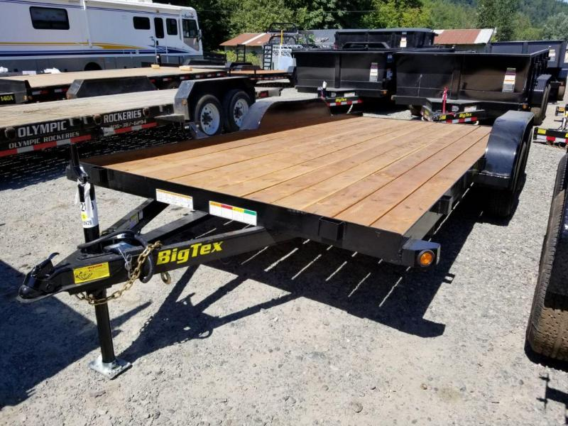 2019 Big Tex Trailers 60CH 7x16 6K Flatbed Car Hauler Trailer