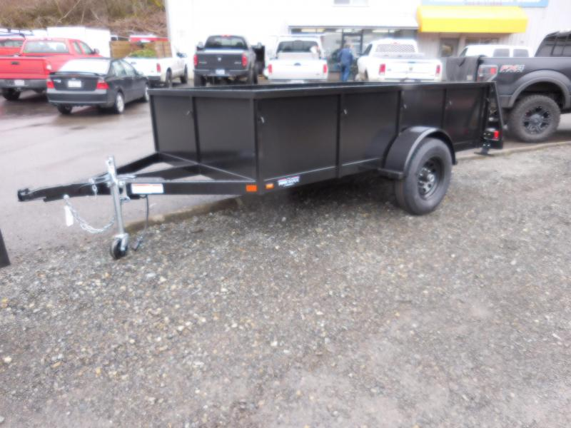 2018 Iron Eagle Voyager 6x10 Utility Trailer with Rear Split Tailgate