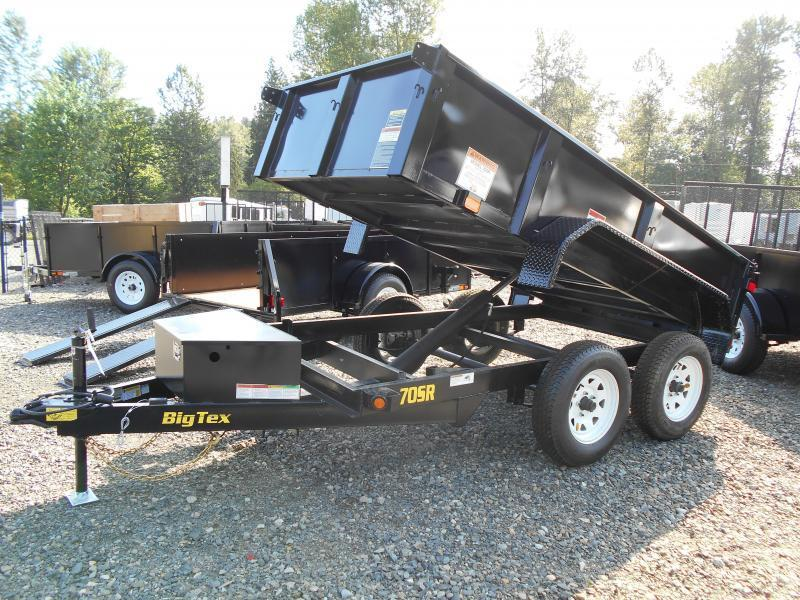 BLOWOUT SALE! 2015 Big Tex 5x10 70SR Dump Trailer