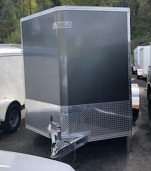 2019 EZ Hauler 7x16 Aluminum Cargo/Enclosed Trailer