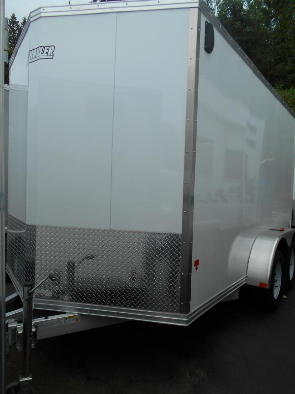 2014 Duralite 7x12 Enclosed Cargo Trailer