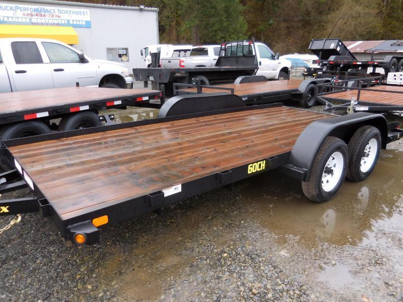 2016 Big Tex Trailers 7x16 60CH Flat Bed Trailer