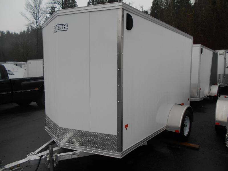 2014 Mission 6x10 Duralite All Aluminum Enclosed Cargo Trailer