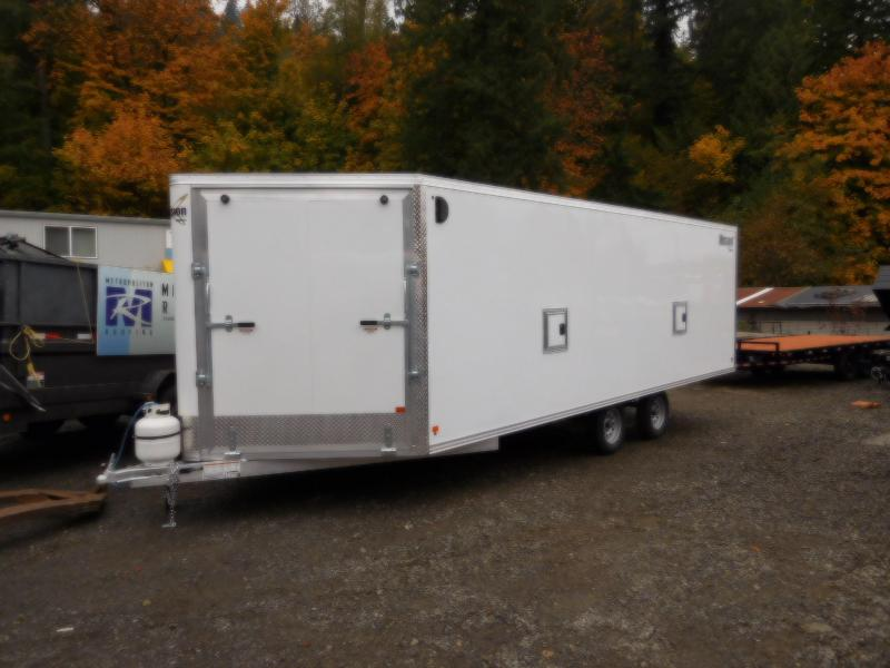 2018 Mission MES 101x22 Snowmobile Trailer