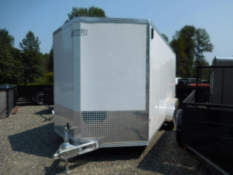 2019 EZ Hauler 7x16 All-Aluminum Enclosed Cargo Trailer - Power Pkg Included