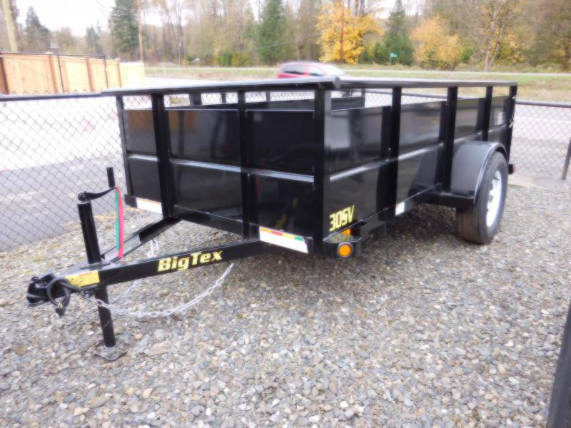 2017 Big Tex 30SV 5x10 Utility Trailer