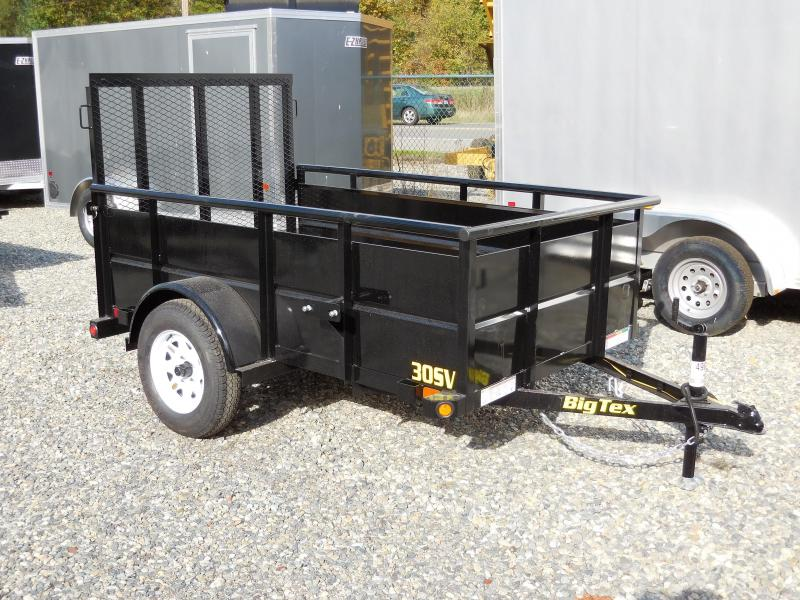 2019 Big Tex Trailers 5x8 30SV Utility Trailer