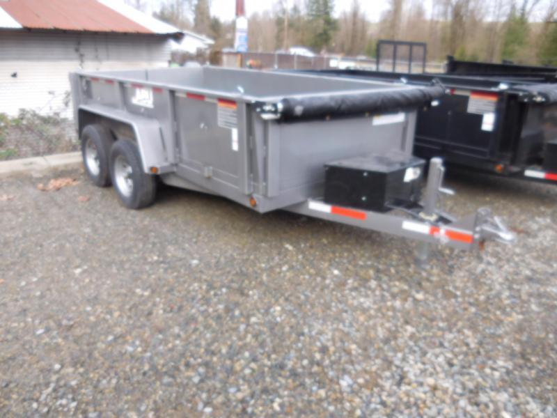 2018 ABU 6x12 Tandem Axle 10K Dump Trailer w/Double Doors