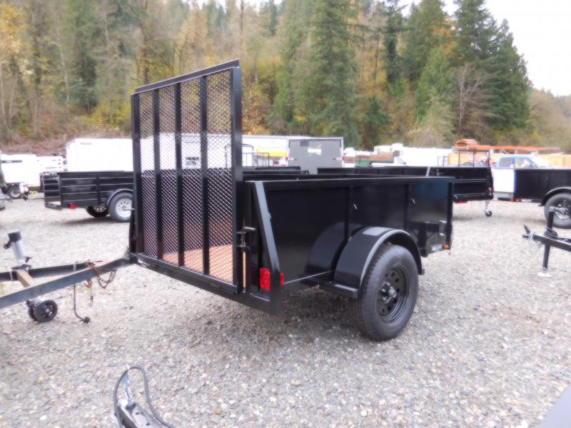 2017 Iron Eagle Voyager 4X8 Landscape Ramp Gate Utility Trailer