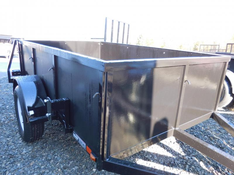 2017 Iron Eagle Voyager 5x8 Swing Gate Utility Trailer