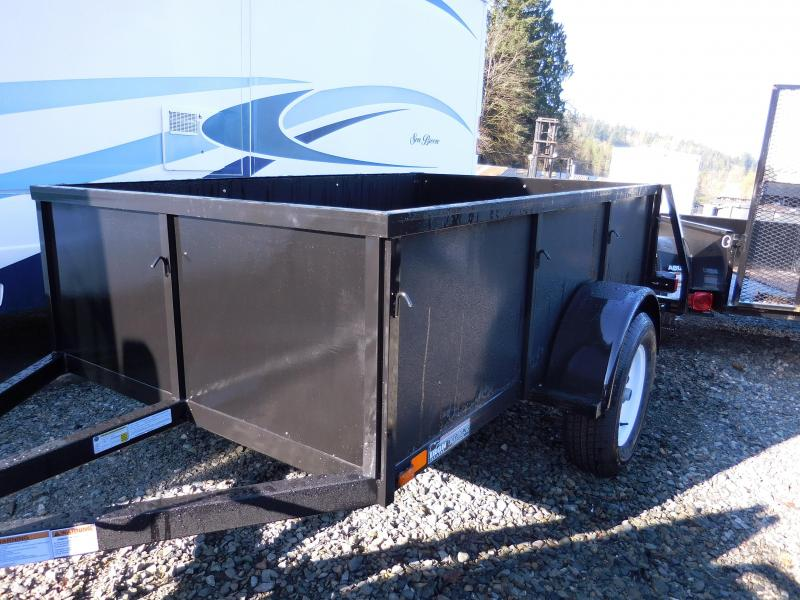 2016 Iron Eagle Voyager 5x8 Standard Swing Gate Utility Trailer