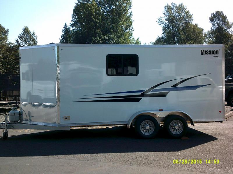 2015 Mission 7x16 Park and Play Toy Hauler