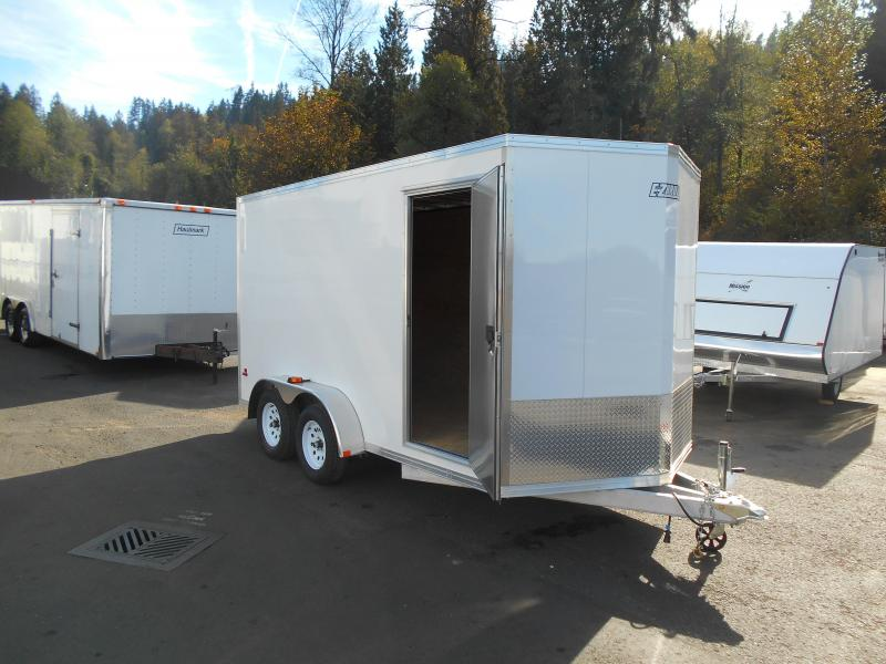 2015 Mission 7x14 Duralite All Aluminum Cargo / Enclosed Trailer