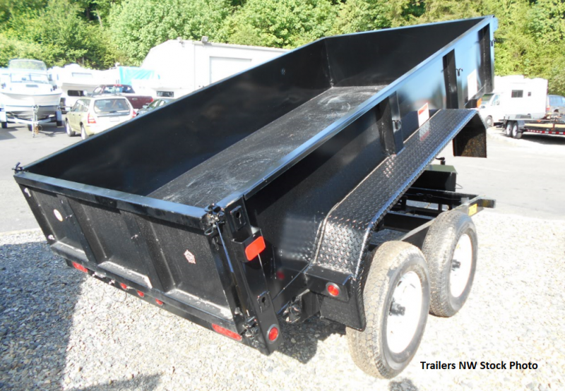 2018 Big Tex Trailers 70SR 6x10 Single Ram Dump Trailer