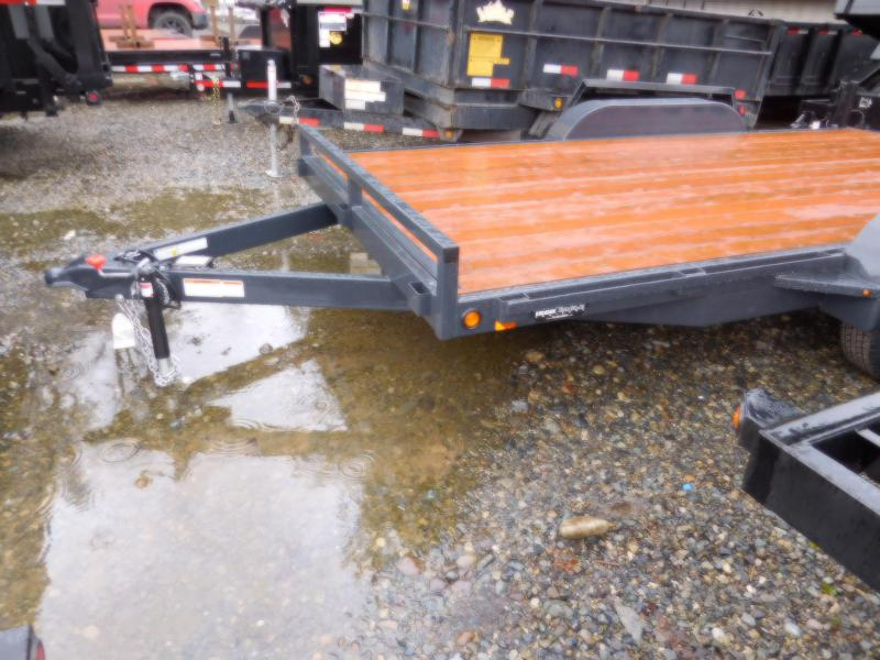 2019 Iron Eagle 7x16 7000 Series Flatbed Trailer
