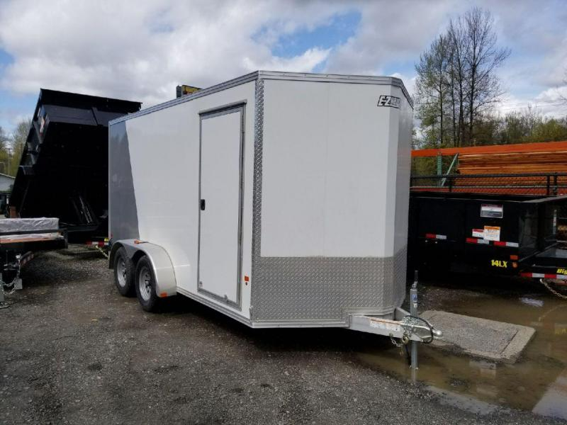 2018 EZ Hauler 7x14 All-Aluminum Enclosed Cargo Trailer - Ramp
