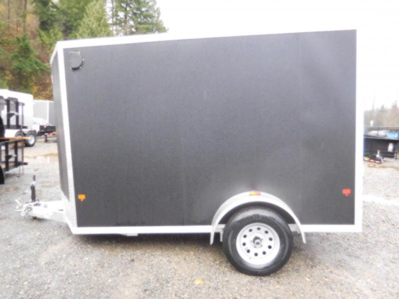 2018 EZ Hauler 6x10 Enclosed Cargo Trailer with Rear Ramp